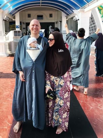 Strój obowiązujący w meczecie