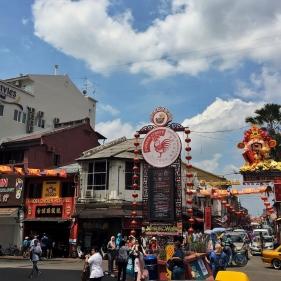 Główna ulica chińskiej dzielnicy